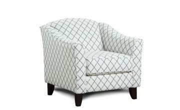 Picture of MUSE BLUE ACCENT CHAIR