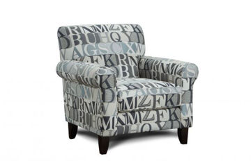 Picture of ANECDOTE BLUE ACCENT CHAIR