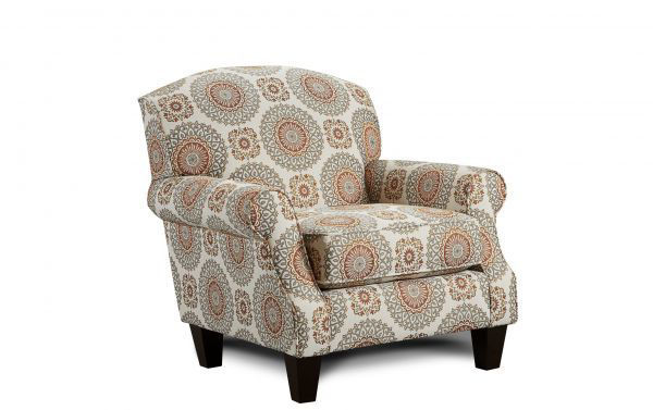 Picture of BRIANNE MARMALADE ACCENT CHAIR