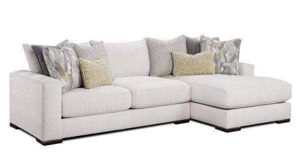 Picture of BRAXTON IVORY SECTIONAL SOFA