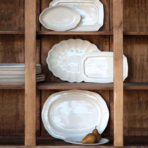 Picture of CREAMWARE SET OF 6 PLATTERS