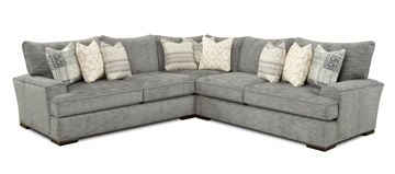Picture of HANDWOVEN SLATE SECTIONAL