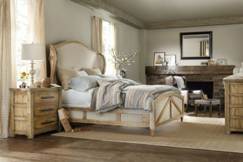 Picture of ROSLYN COUNTY KING BED - PECAN