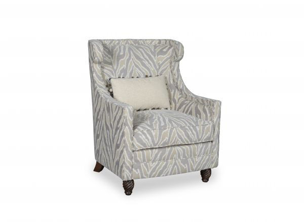 Picture of AMANDA IVORY ACCENT CHAIR