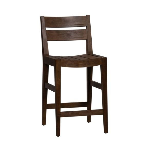 Picture of SLAT BACK COUNTER CHAIR