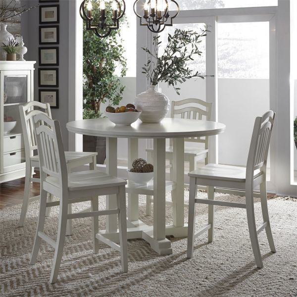 Picture of SUMMER HILLS GATHERING TABLE & STOOL GROUP