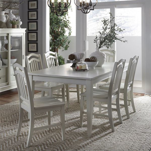 Picture of SUMMER HILLS DINING TABLE & CHAIR GROUP