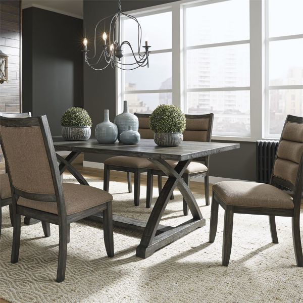 Picture of HIGHLAND CREEK DINING TABLE & CHAIR GROUP