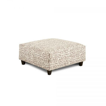 Picture of KUBA CHINCHILLA COCKTAIL OTTOMAN
