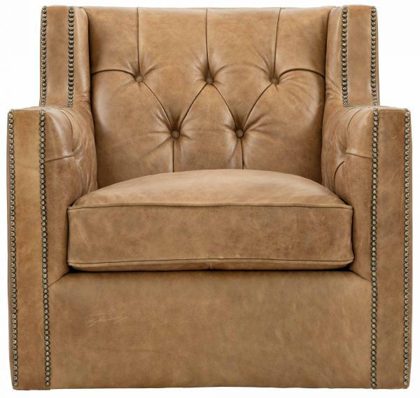Picture of CANDACE LEATHER SWIVEL CHAIR