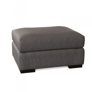 Picture of GERMAIN LEATHER OTTOMAN