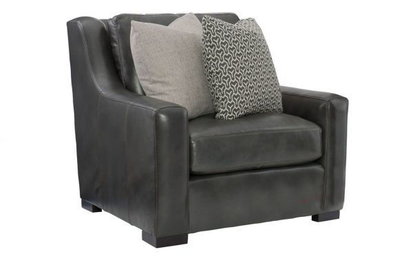 Picture of GERMAIN LEATHER CHAIR