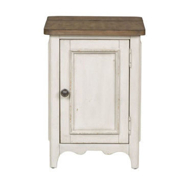 Picture of PARISIAN MARKETPLACE DOOR CHAIR SIDE TABLE