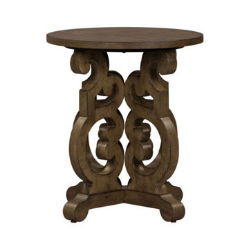 Picture of PARISIAN MARKETPLACE ROUND END TABLE