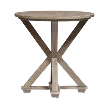 Picture of PARKLAND FALLS ROUND END TABLE