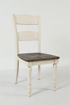 Picture of MADISON COUNTY LADDERBACK SIDE CHAIR