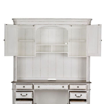 Picture of MAGNOLIA MANOR JR. EXECUTIVE CREDENZA HUTCH