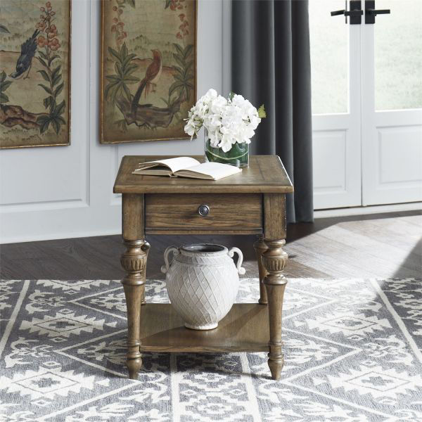 Picture of HAVEN HALL DRAWER END TABLE