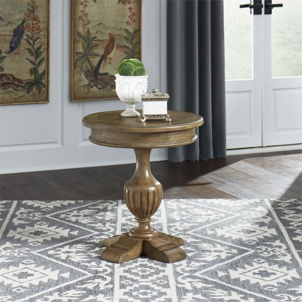Picture of HAVEN HALL ROUND END TABLE