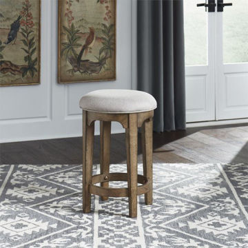 Picture of HAVEN HALL CONSOLE STOOL