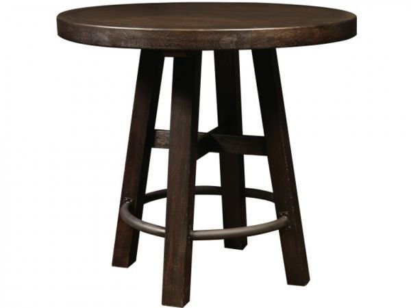 Picture of BARRELL ROUND TABLE & CHAIR GROUP