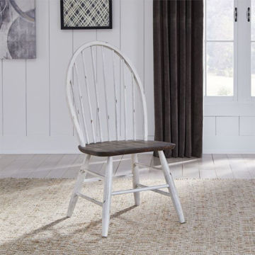 Picture of FARMHOUSE WINDSOR BACK SIDE CHAIR