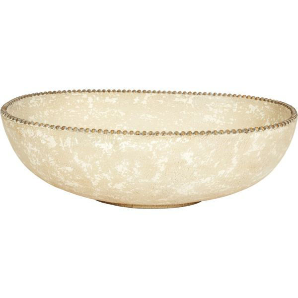 Picture of OVAL FRENCH WHITE BOWL