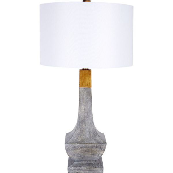 Picture of CHATHAM CEMENT TABLE LAMP