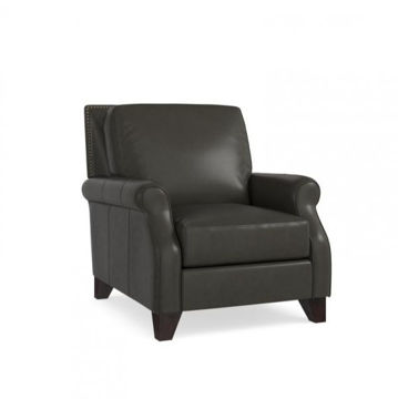 Picture of BASSETT GREYSON LEATHER CHAIR
