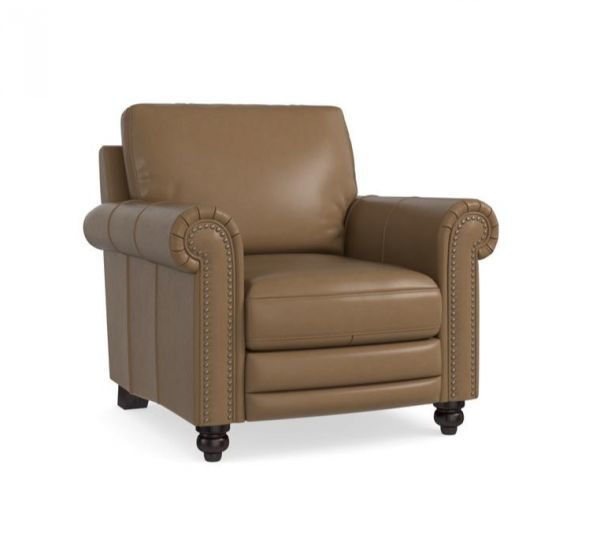 Picture of BASSETT JACKSON LEATHER CHAIR