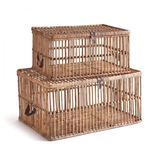 Picture of AVA RATTAN TRUNK SET