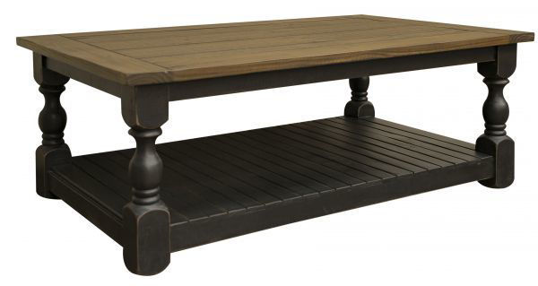 Picture of STONE BLACK COCKTAIL TABLE