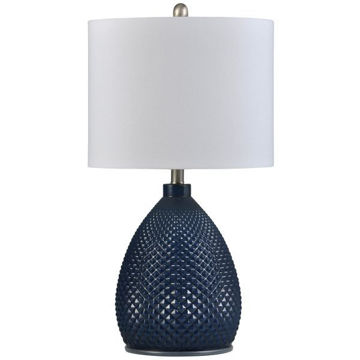 Picture of TRANSITIONAL GLASS LAMP