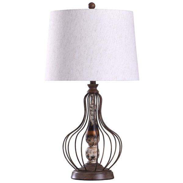 Picture of METAL WIRE TABLE LAMP