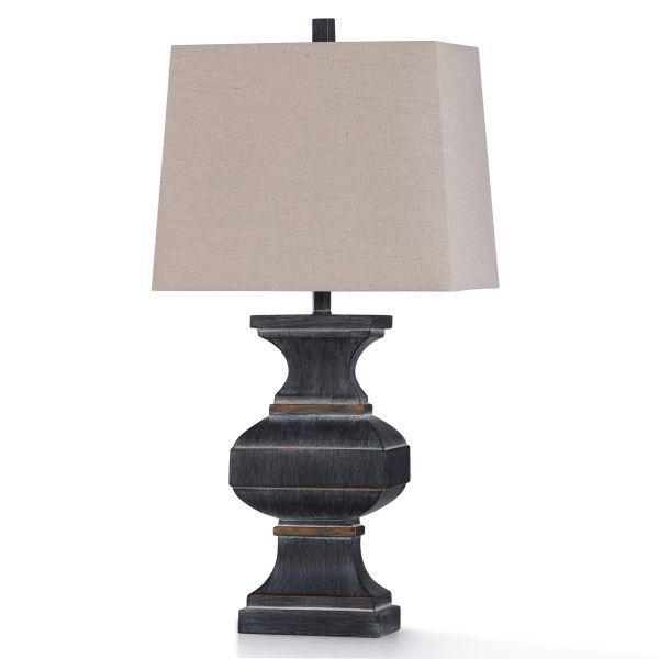Picture of MALTA BLACK TABLE LAMP
