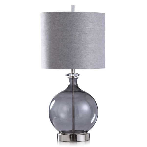 Picture of SACO SMOKE GLASS GLOBE LAMP