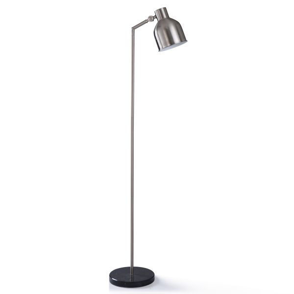 Picture of IRBY SILVER FLOOR LAMP