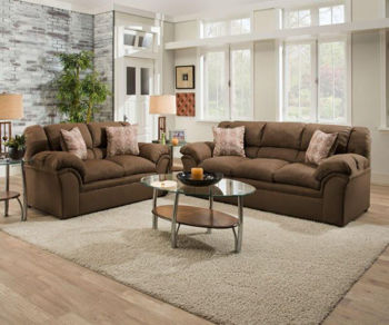 Picture of VENTURE CHOCOLATE SOFA & LOVE GROUP