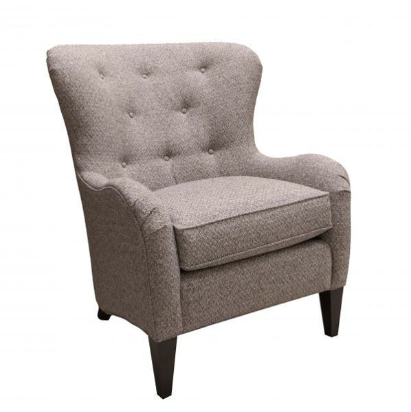 Picture of CURVED BACK ACCENT CHAIR