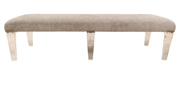 Picture of ACRYLIC UPHOLSTERED BENCH