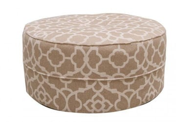 Picture of LONDON ROUND COCKTAIL OTTOMAN