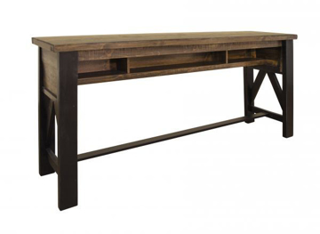 Picture of LOFT BROWN COUNTER SOFA TABLE