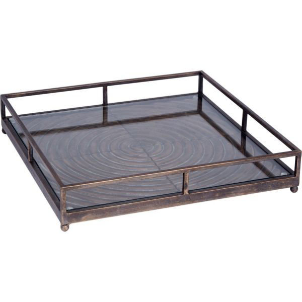 Picture of HUGHES BRUSHED BRONZE TRAY