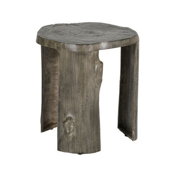 Picture of NATURE'S WOOD STUMP LEG SIDE TABLE
