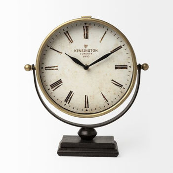 Picture of HOUSTON HALF MOON TABLE CLOCK