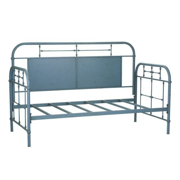 Picture of BLUE TWIN METAL DAY BED