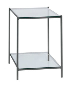 Picture of BASSETT LINVILLE GUNMETAL END TABLE
