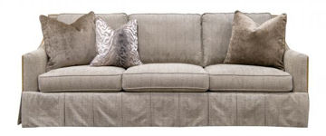 Picture of SHERRILL SNAPSHOT TAUPE SOFA