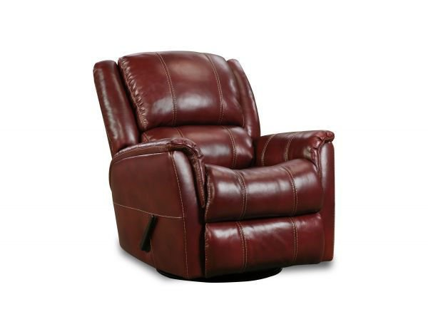 Picture of RED MERCURY SWIVEL GLIDER RECLINER