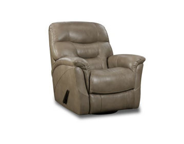 Picture of TAN MERINO SWIVEL GLIDER RECLINER